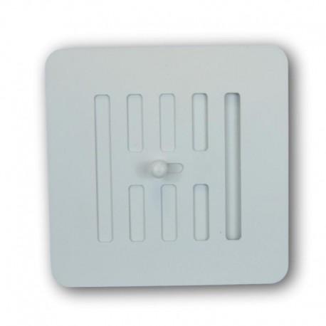 Rejilla Regulable Pellets 13x13 Blanco