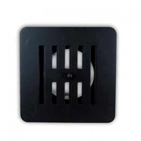 Rejilla Regulable Pellets 13x13 Negro