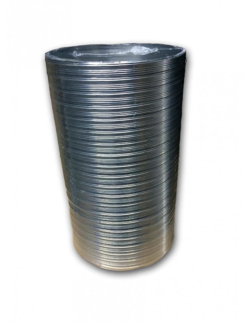 flexible Aluminio 120mm de 1 metro