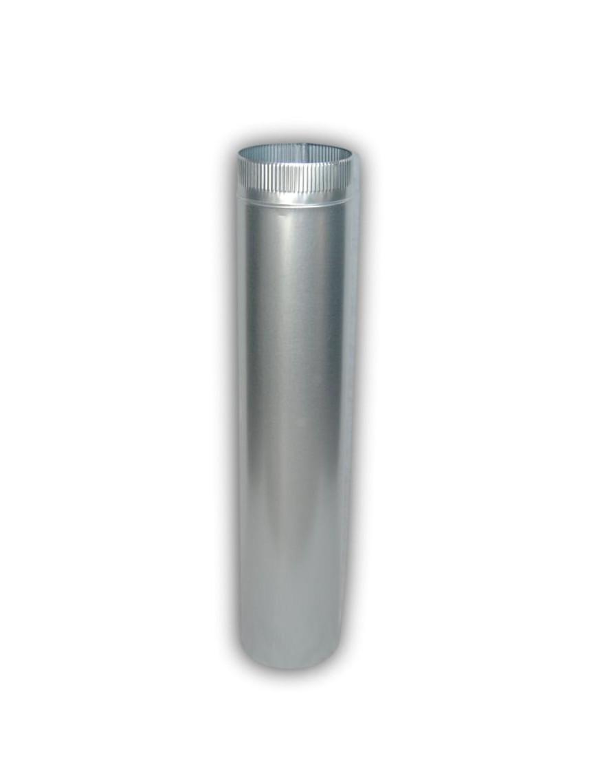 Tubo chimenea galvanizado