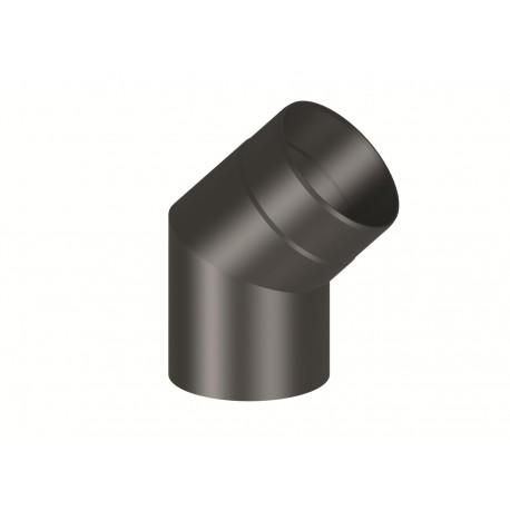 Codo Negro 45º 2 mm