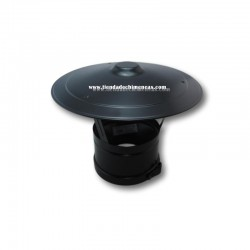 Sombrero Fijo Doble Pellets Negro