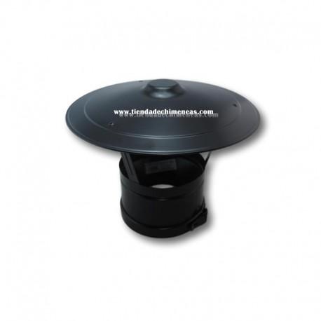 Sombrero Fijo Doble Negro