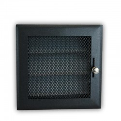 Rejilla Regulable 15x15 Negro